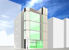 医療ビル 基本デザイン外観