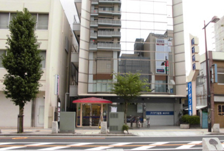 木田ビル3階が受付です。